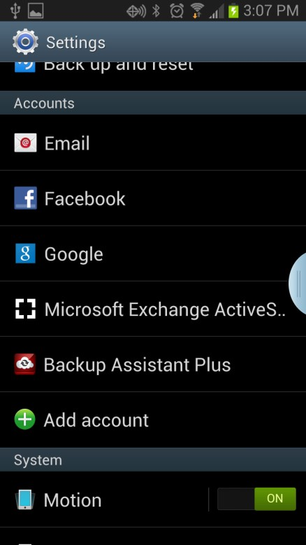 Change Exchange Email Password On Android Version 4 1 2