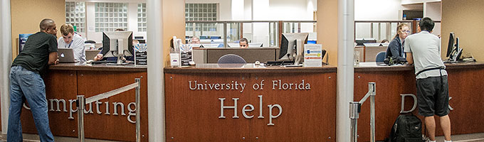 UF Computing Help Desk