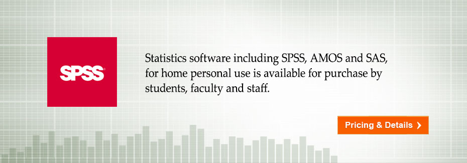 SPSS Software Available