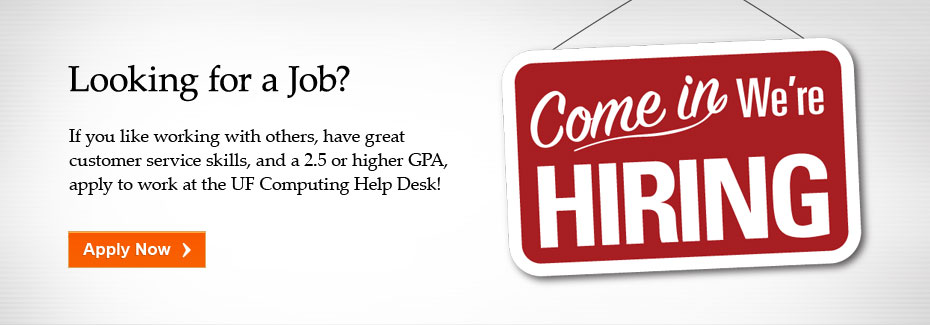 The Help Desk is Hiring