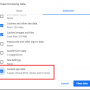 Clearing Cache and Cookies – Chrome